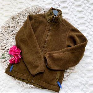 Patagonia Synchilla Brown Zip Up Fleece